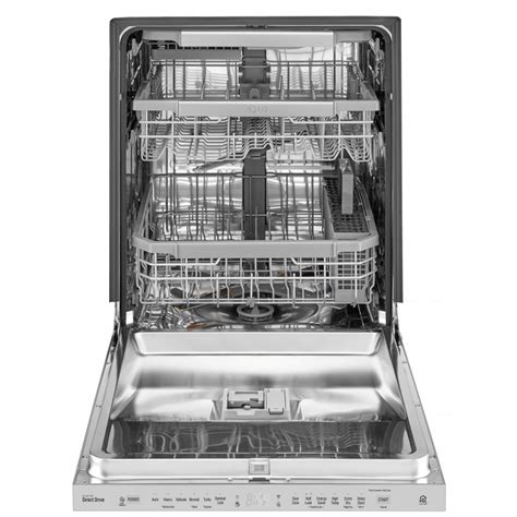 Three Rack Dishwasher by Lg Ldp6797st Top Dishwasher With Quadwash And