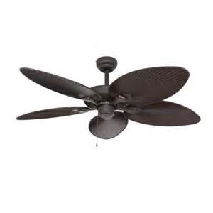 patio ceiling fans fans ceiling fan tortola 52 in outdoor bronze