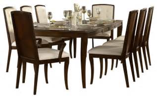 9 Piece Dining Room Set by Homelegance Abramo 9 Piece Rectangular Dining Room Set In