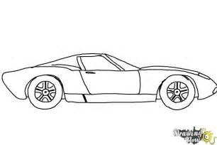 Porsche Chion Wheels How To Draw A Sports Car Drawingnow