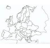 Mapa Politico De Europa 2011 Para Imprimir 1