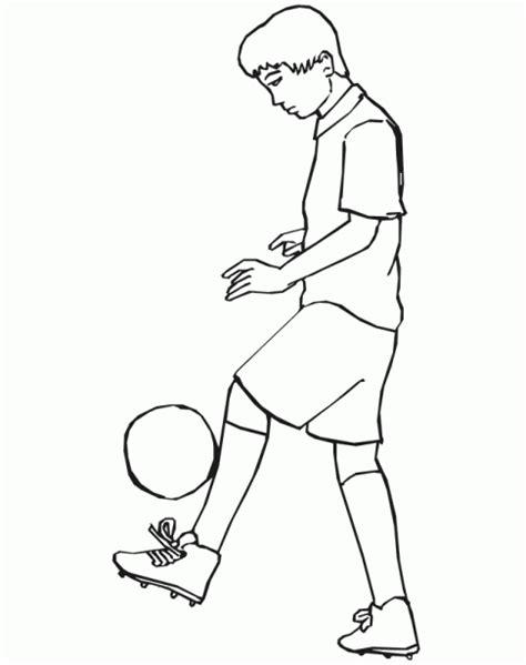 dibujos niños jugando futbol para colorear dibujos para colorear de ni 241 os jugando futbol imagui