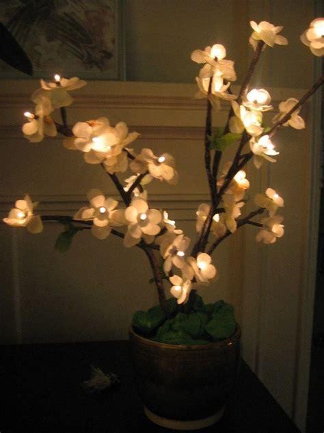 diy how to make cherry blossom led tree lights craft ideas diy tree lighting