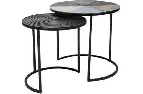 table d appoint design pas cher set de 2 tables d appoint nuovo design pas cher sur sofactory