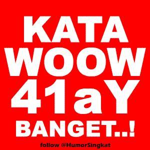 bosan gua dengar kata wow alay banget display picture dp bbm