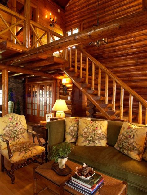 Pictures Of Log Home Interiors log cabin interiors home design ideas pictures remodel