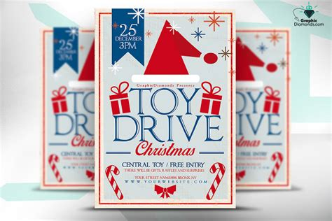 30 Christmas Flyer Templates Psd Vector Format Download Free Premium Templates Drive Flyer Template