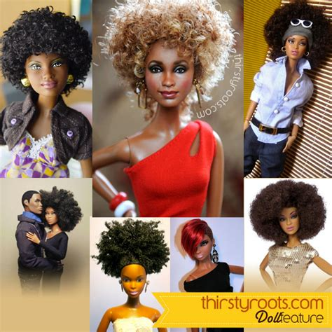 hair style doll for black black dolls are featured with different