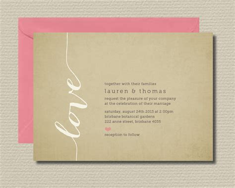 wedding invitations with st gertrude tree laser cut design