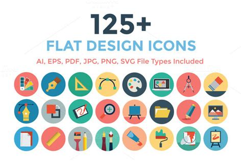 11 gallery icon flat images flat design icons free flat 125 flat design icons icons on creative market