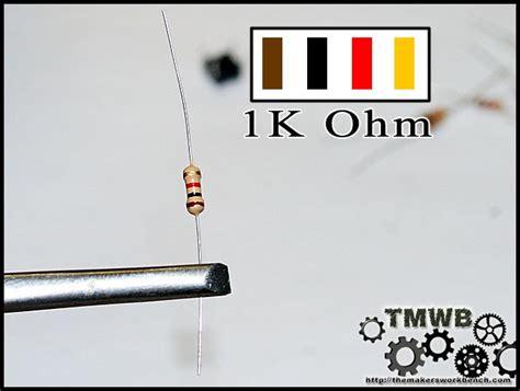 1k ohm resistor color dickson autotronics identifying resistor values