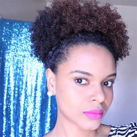 afro easy hairstyles simple hairstyle for afro puff hairstyles quick easy