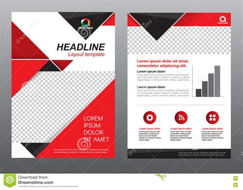 business page design templates layout flyer template size a4 cover page and black