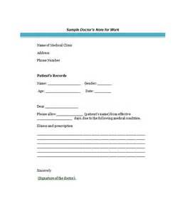 doctors notes templates sle of excuse letter for high school students cover