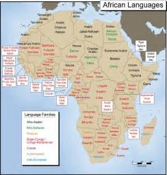 Language Map Of Africa by Module Five Activity Five Exploring Africa