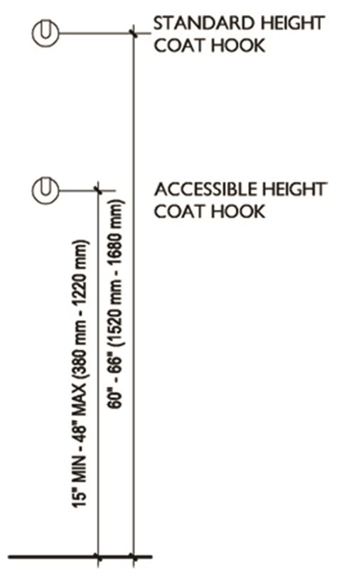 height of robe hook in bathroom height of coat hooks home design