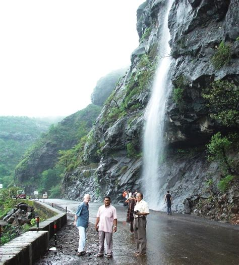 Sadanand Resort Mumbai India Asia small waterfall on malshej ghat road india travel forum