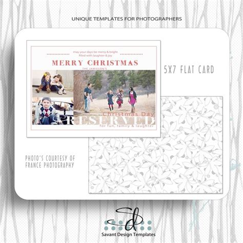 Merry And Bright Card Template by Merry Bright Card Template Cards