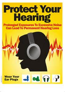 safety poster   wear your ear plugs safety poster shop