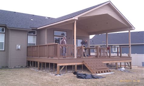 covered deck ideas would love a big covered deck covered deck pinterest