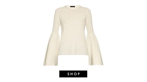 Bell Sleeve Wool Blend Knit Top 5 perfectly proper reasons to start wearing bell sleeve