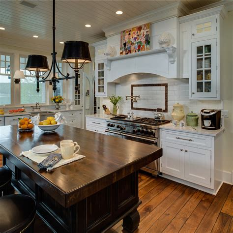 Traditional Kitchen Island Lighting Coastal Home With Traditional Interiors Home Bunch Interior Design Ideas