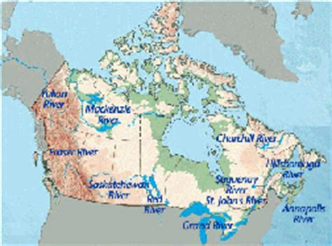 canadian map rivers rivers of canada how they shaped our country can geo
