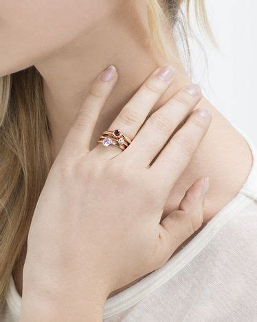 Gelang Blue Goldsand 8 Mm 1 framboise ring set accessories
