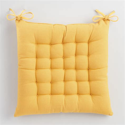 Chair Pillows by Golden Yellow Dasutti Chair Cushion World Market
