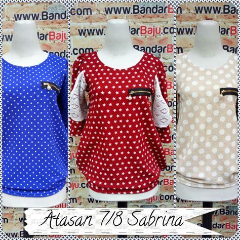 Atasan Sabrina Murah Bandung grosir atasan wanita sabrina 7 8 murah bandung 43ribu baju3500