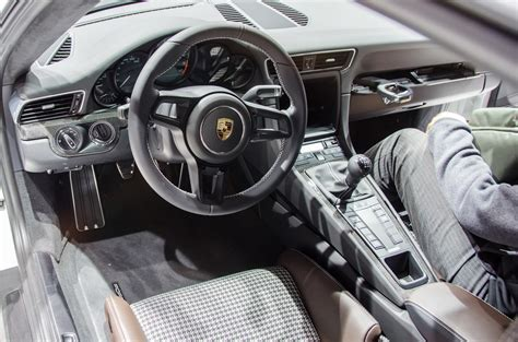 porsche 911 interior an idiot savant guide to the new porsche 911 r