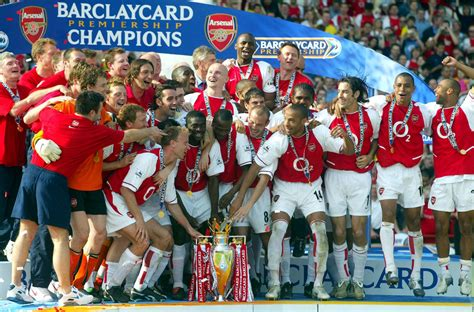 arsenal invincible ten years since arsenal s invincibles other famous