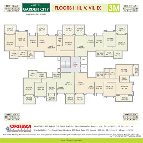 Airport Terminal Floor Plans by Aditya S A Garden City Waraje Pune Residential