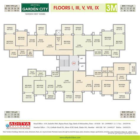Green House Floor Plans aditya s a garden city waraje pune residential