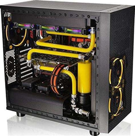 Thermaltake C1000 Opaque Merah thermaltake c1000 opaque coolant 1000 ml yellow cl w114 os00ye a buy best price in uae