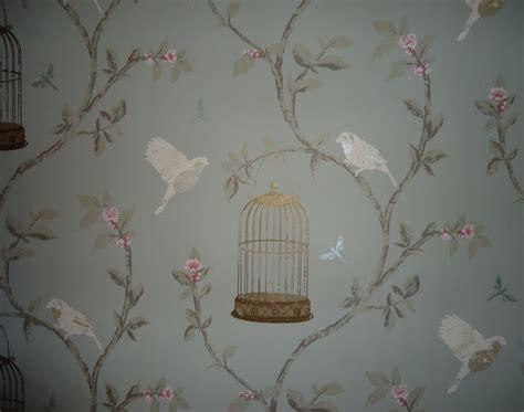 vintage birdcage wallpaper wallpapersafari