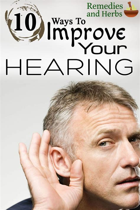 10 ways to improve your hearing diy home remedies