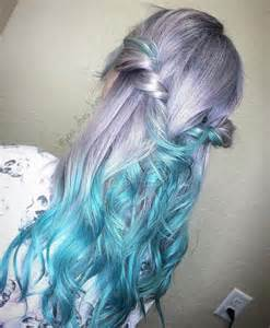 mermaid hair trend has women dyeing their hair into