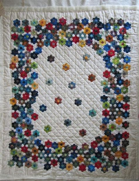 368 best hexagon quilts images on patchwork