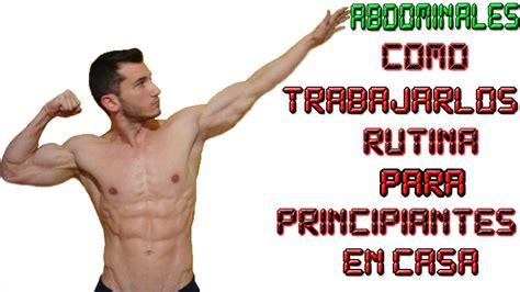 los mejores ejercicios de abdominales para principiantes - Como Hacer Bien Abdominales En Casa
