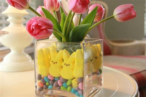 Tischdeko Ostern Selber Basteln by Tischdeko F 252 R Ostern Mit Bunten Farben Und Frischen Blumen