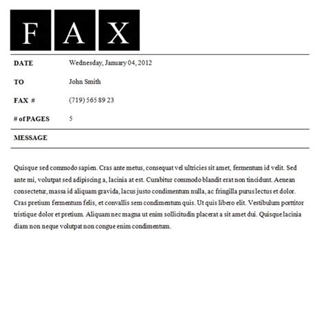 template fax cover sheet fax cover sheet template fax cover sheet all form templates