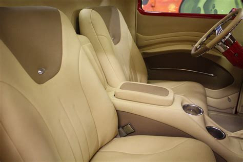 Interior Upholstery by Custom Truck Upholstery Larsons Tattooing
