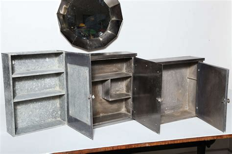 Industrial Medicine Cabinet by Restored Vintage Industrial Medicine Cabinets At 1stdibs