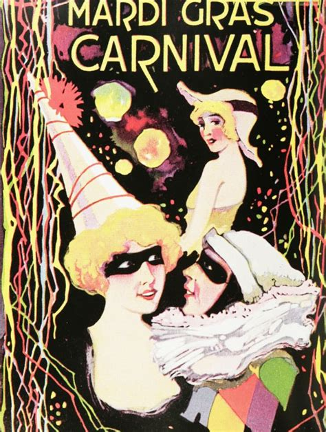 vintage mardi gras vintage travel and tourism ads of the 1920s page 3