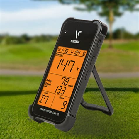 golf swing monitors voice caddie sc100 portable golf launch monitor at
