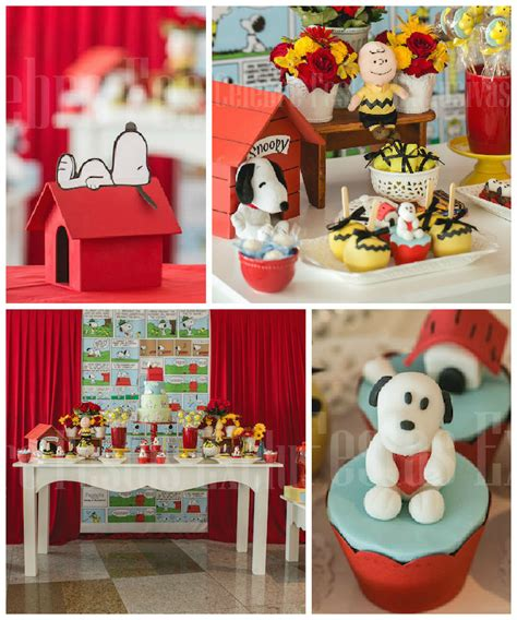 Snoopy Birthday Decorations by Snoopy Theme Pictures To Pin On Pinsdaddy