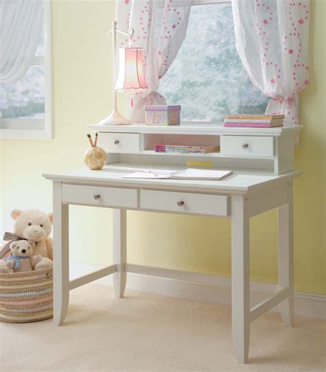 Desks For Kids Bedrooms white desk for girls whitevan