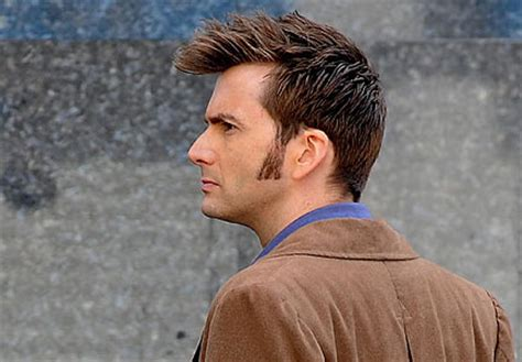 doctor who hairstyles david tennant haircut name globezhair