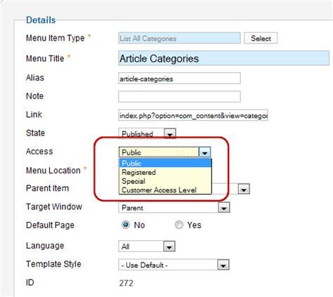 joomla acl tutorial j2 5 access control list tutorial joomla documentation